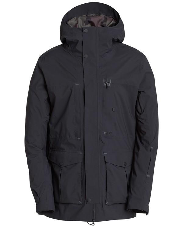 0 Bodeman Shell 45K Stretch Snow Jacket Schwarz L6JM11BIF8 Billabong