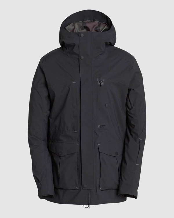 0 Men's Bodeman Snow Jacket Black L6JM11S Billabong