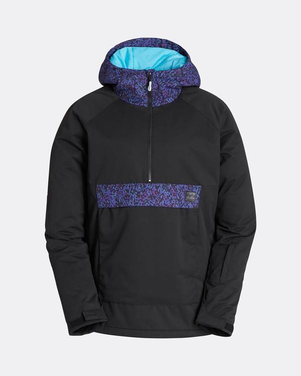 0 Stalefish Anorak 10K Snow Jacket Negro L6JM13BIF8 Billabong