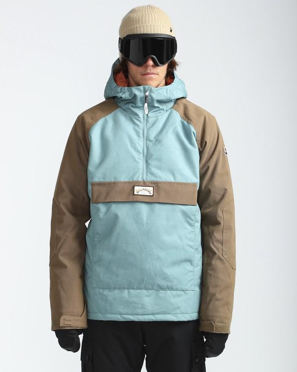 0 Stalefish Anorak 10K Snow Jacket Blau L6JM13BIF8 Billabong