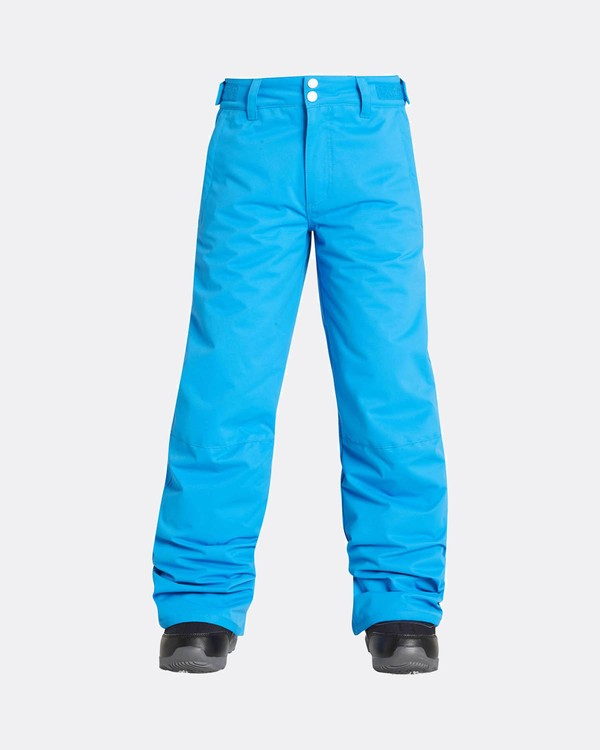 0 Boys Grom Snow Pants Blue L6PB01BIF8 Billabong