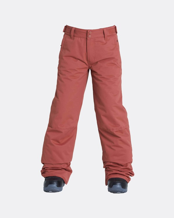 0 Boys Grom Snow Pants Marron L6PB01BIF8 Billabong