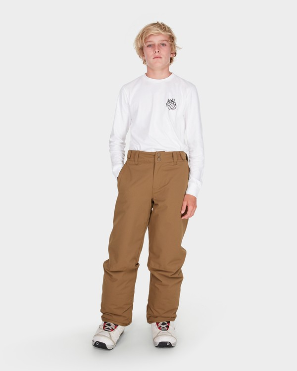 0 Teen Snow Pant Yellow L6PB01S Billabong