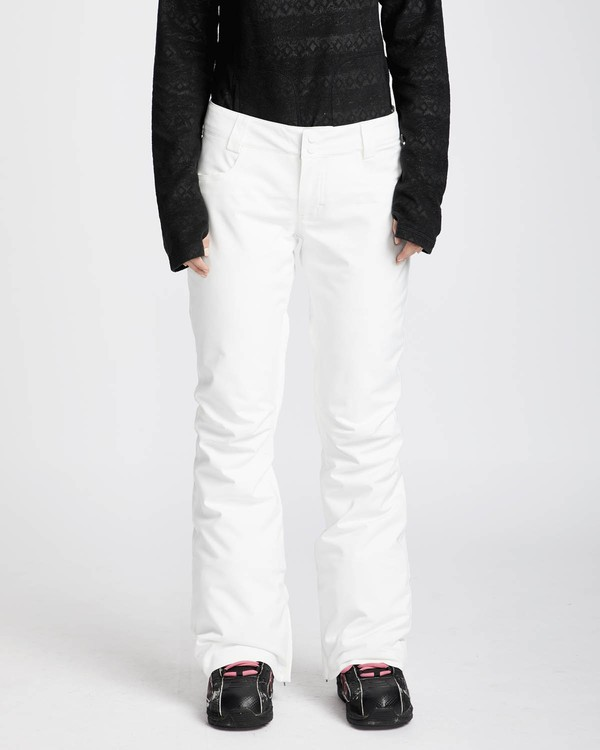 0 Terry 10K Stretch Snow Pants Blanco L6PF02BIF8 Billabong