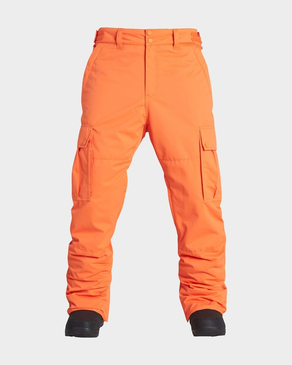 0 TRANSPORT SNOW PANT Orange L6PM01S Billabong