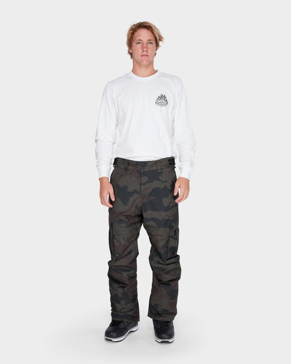 0 TRANSPORT SNOW PANT Camo L6PM01S Billabong