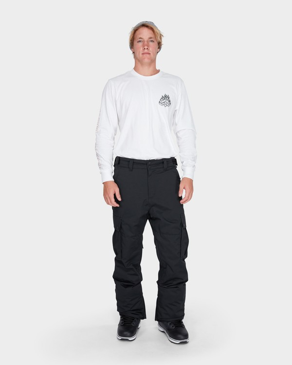 0 TRANSPORT SNOW PANT Black L6PM01S Billabong