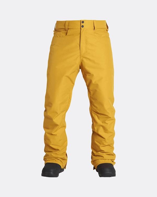 0 Outsider 10K Snow Pants Beige L6PM02BIF8 Billabong