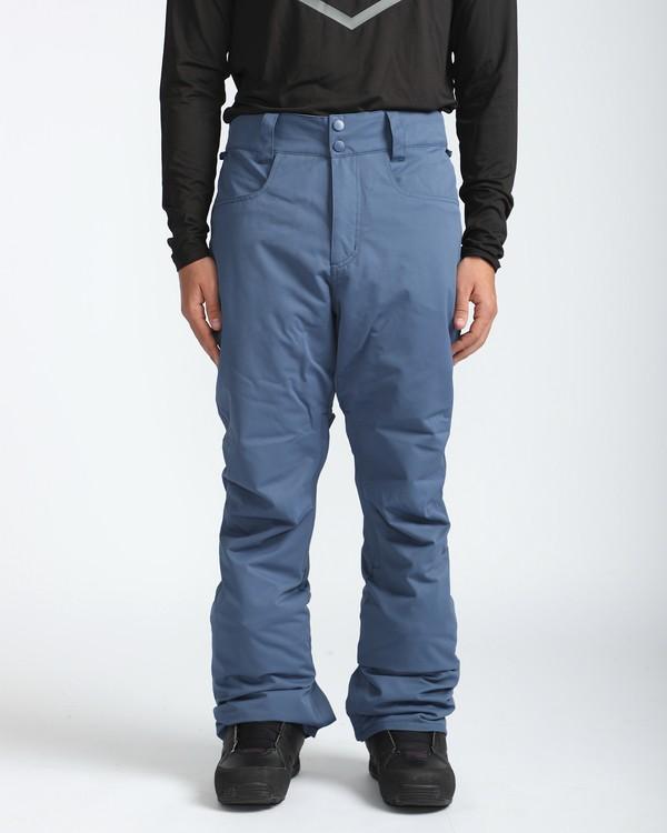 0 Outsider 10K Snow Pants Blau L6PM02BIF8 Billabong