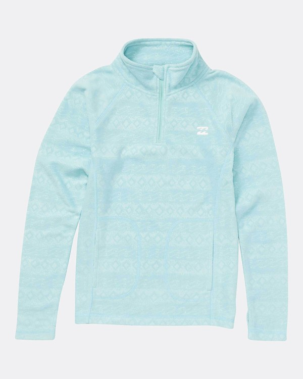 0 Morning Call Half Zip Snow Pullover Azul L6SF01BIF8 Billabong