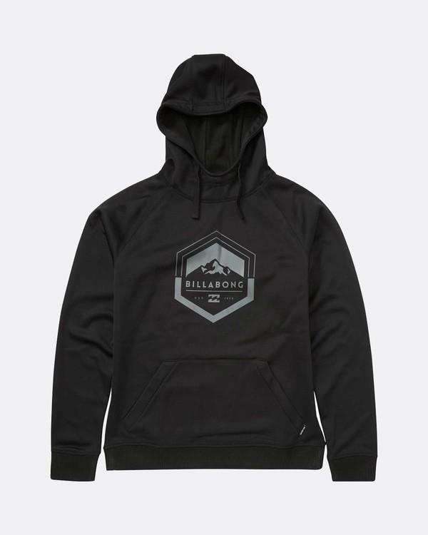 0 Downhill Hoodie Dwr Snow Layer Black L6SM02BIF8 Billabong