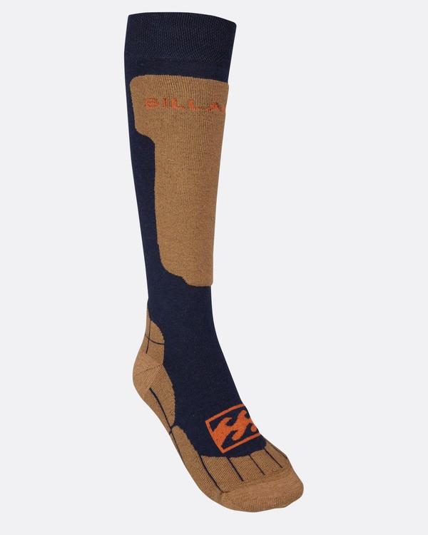 0 Pack Coolmax Snow Socks Blue L6SO01BIF8 Billabong