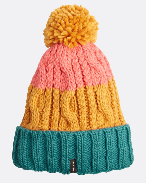 0 Headsss Big Cable Knitted Beanie Amarillo L9BN06BIF8 Billabong