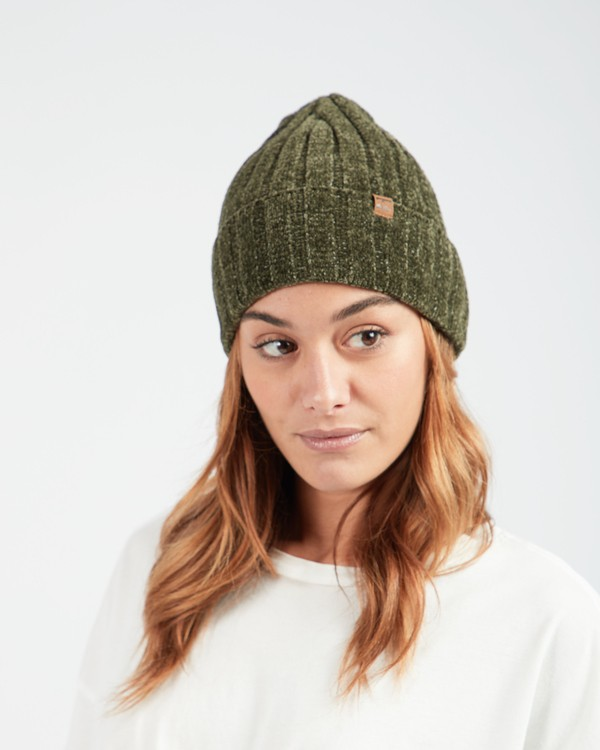 0 Warm Up Foldover Knit Beanie Vert L9BN12BIF8 Billabong