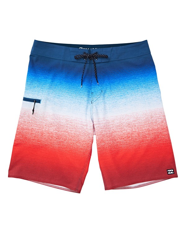 0 Fluid Airlite Boardshorts Red M104TBFL Billabong