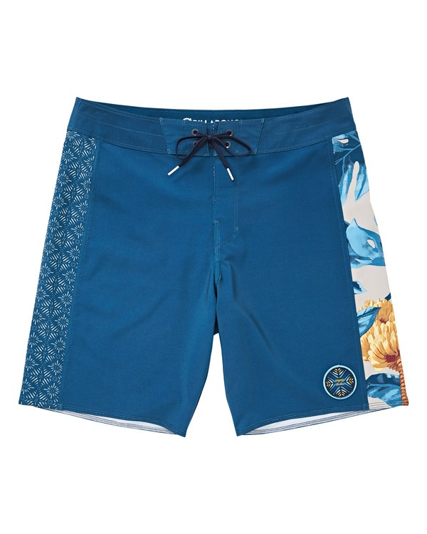 0 D Bah Pro Boardshorts Blue M121TBSP Billabong