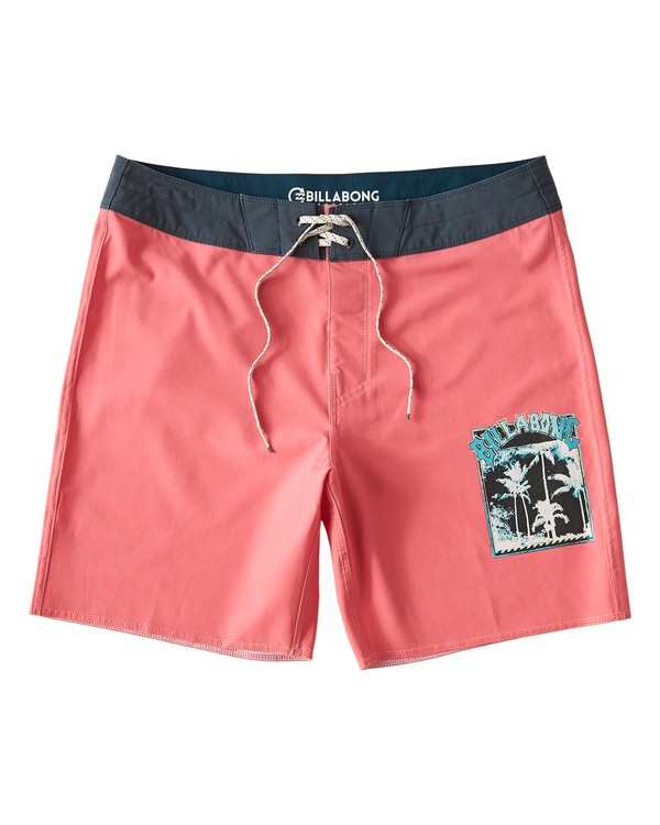0 Warp Pro Boardshorts Pink M122UBPL Billabong