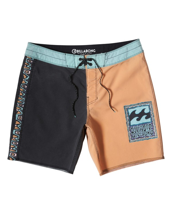 0 Warp Pro Boardshorts Multicolor M122UBPL Billabong