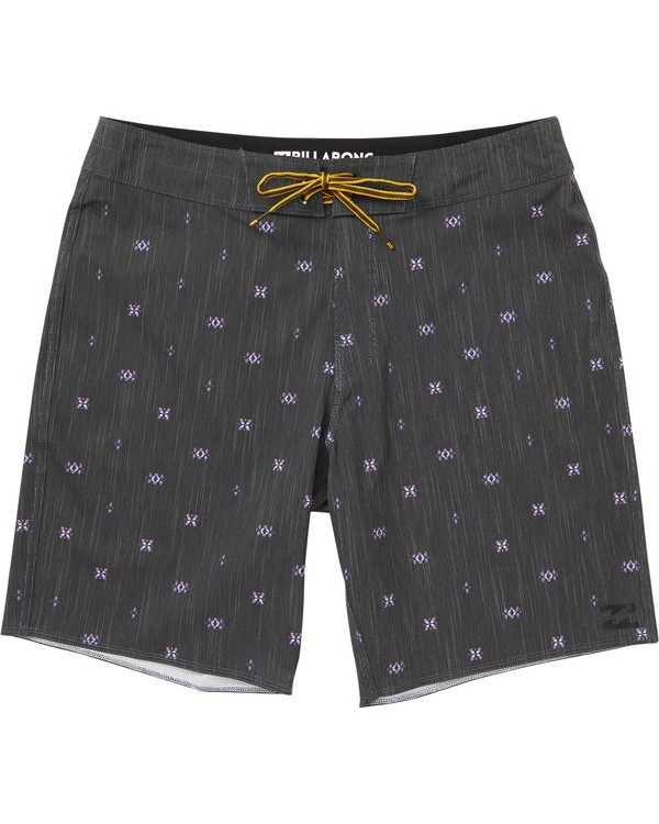 0 Sundays X Mark Printed Performance Boardshorts Grey M123SBSM Billabong