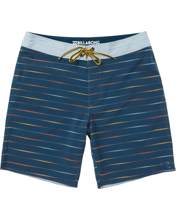 0 Sundays X Mark Printed Performance Boardshorts Blue M123SBSM Billabong