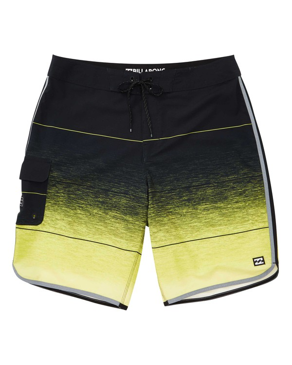 0 73 Stripe Pro Boardshorts Black M127TBST Billabong