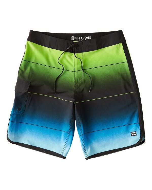 0 73 Stripe Pro Boardshorts Green M127VBST Billabong
