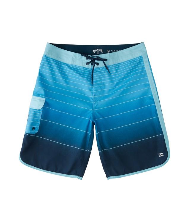 0 73 Stripe Original Boardshorts Blue M1281BSM Billabong