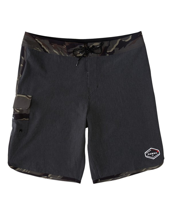 0 73 Pro Hawaii Boardshorts Black M1283BSD Billabong