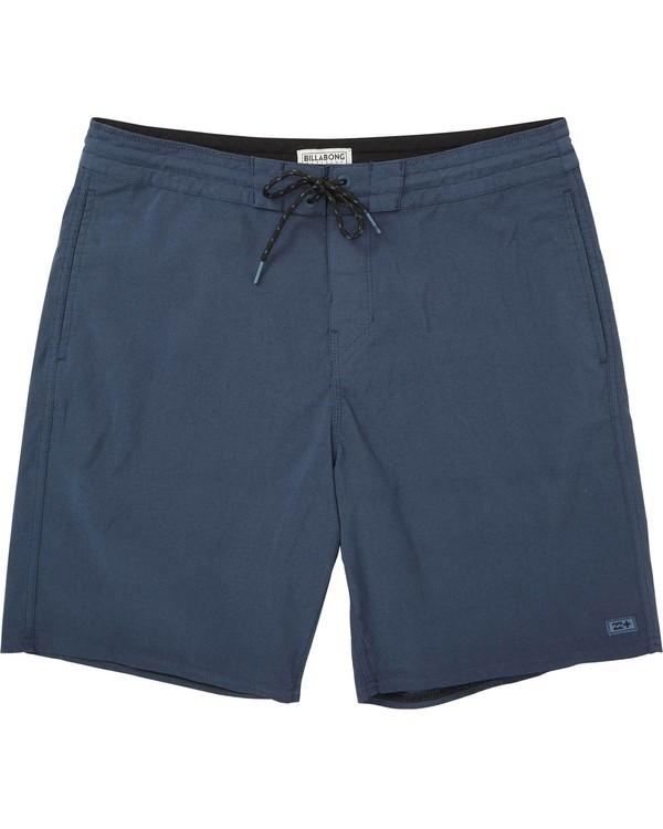 0 All Day Lo Tide Overdye Boardshorts Purple M128MSWS Billabong