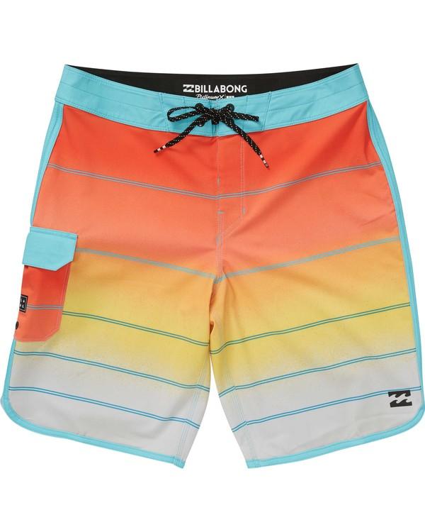 0 73 X Stripe Boardshorts Yellow M129NBSS Billabong