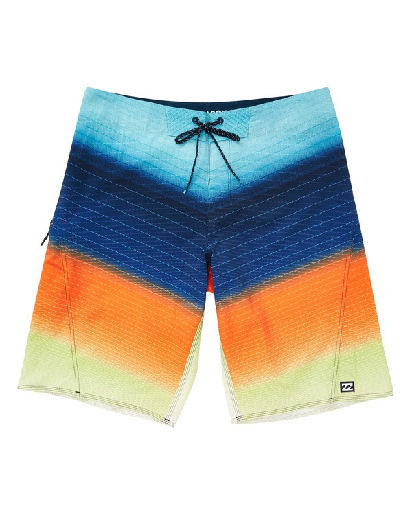 0 Fluid Pro Boardshorts Orange M131TBFL Billabong