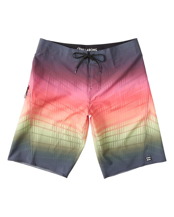 "0 Fluid Pro Boardshort 21"" Red M131VBFL Billabong"