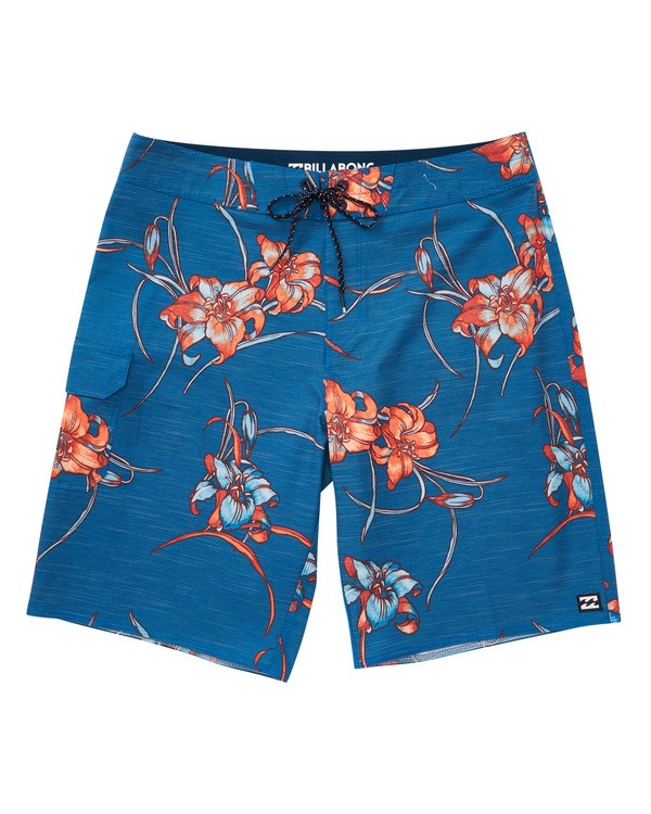 0 All Day Floral Pro Boardshorts Blue M132TBAF Billabong