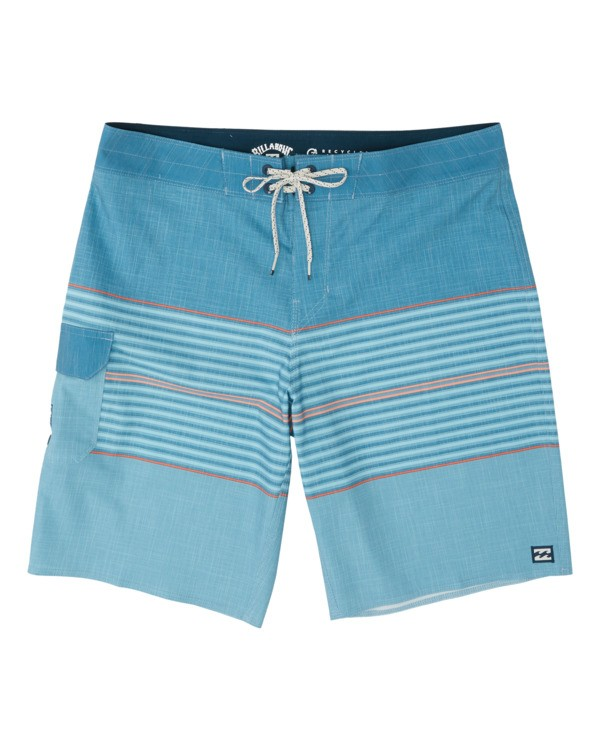0 All Day Heather Stripe Pro Boardshorts Pink M1331BHP Billabong