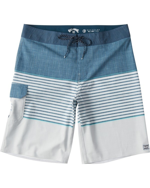 "0 All Day Heather Stripe Pro Boardshort 20"" Beige M1331BHP Billabong"