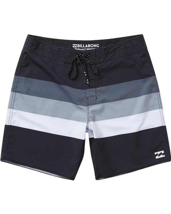 0 Momentum X Short Boardshorts Grey M133NBMO Billabong