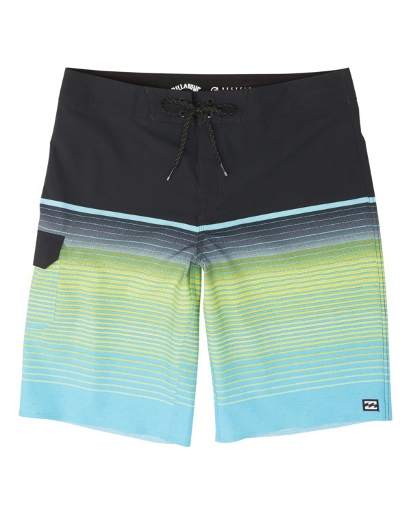 0 All Day Stripe Pro Boardshorts Blue M1341BSP Billabong