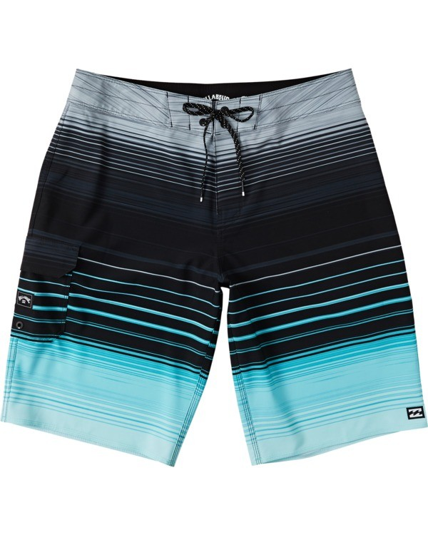 "0 All Day Stripe Pro Boardshort 20"" Green M1341BSP Billabong"