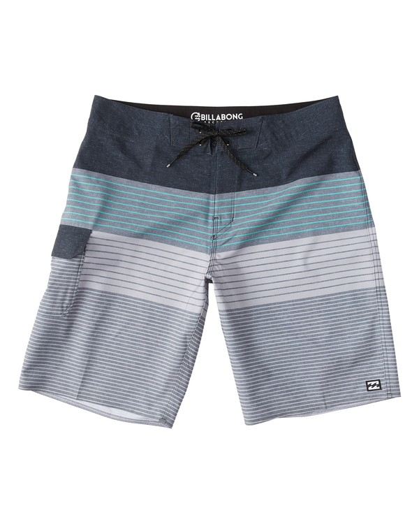 0 All Day Heather Stripe Pro Boardshorts Black M134VBAH Billabong
