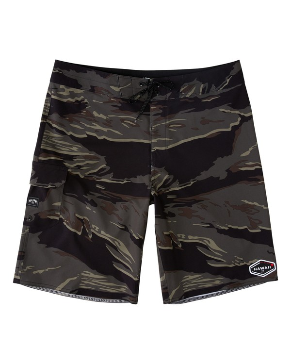 0 All Day Pro Hawaii  Boardshorts Black M1353BAD Billabong