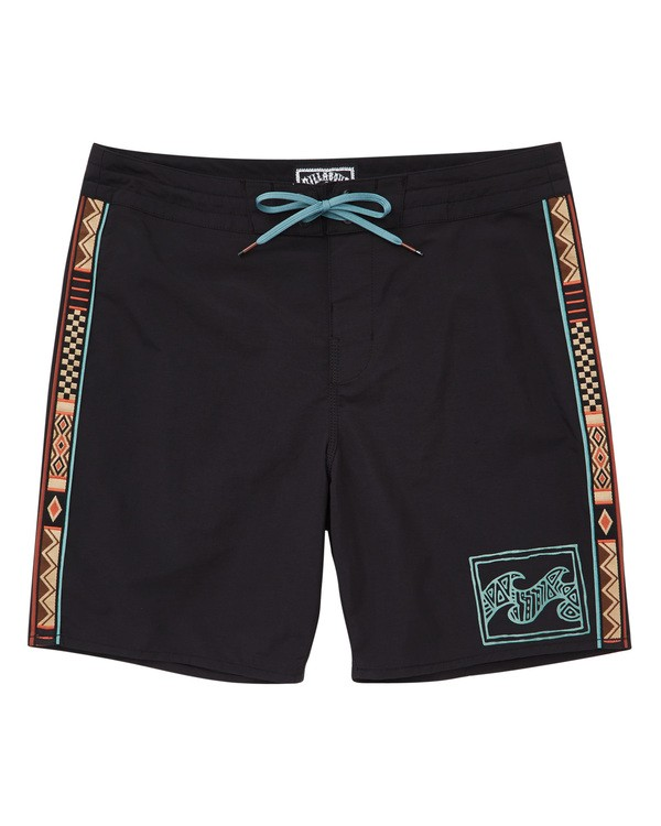 0 Atlas Jacquard Boardshorts Black M136TBAJ Billabong