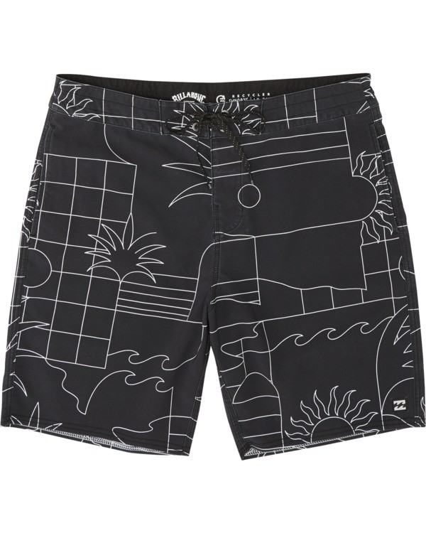 0 Sundays Lo Tides Boardshorts Black M1381BSL Billabong