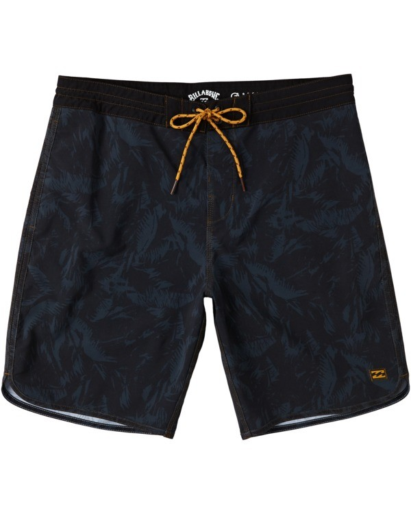 "0 73 Lo Tides Boardshort 19"" Black M1391BSL Billabong"