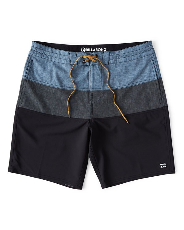 Billabong Tribong men's boardshorts in black and blue