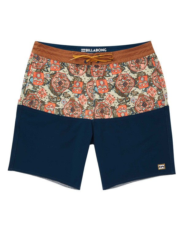 0 Fifty50 LT Boardshorts Blue M141TBFI Billabong
