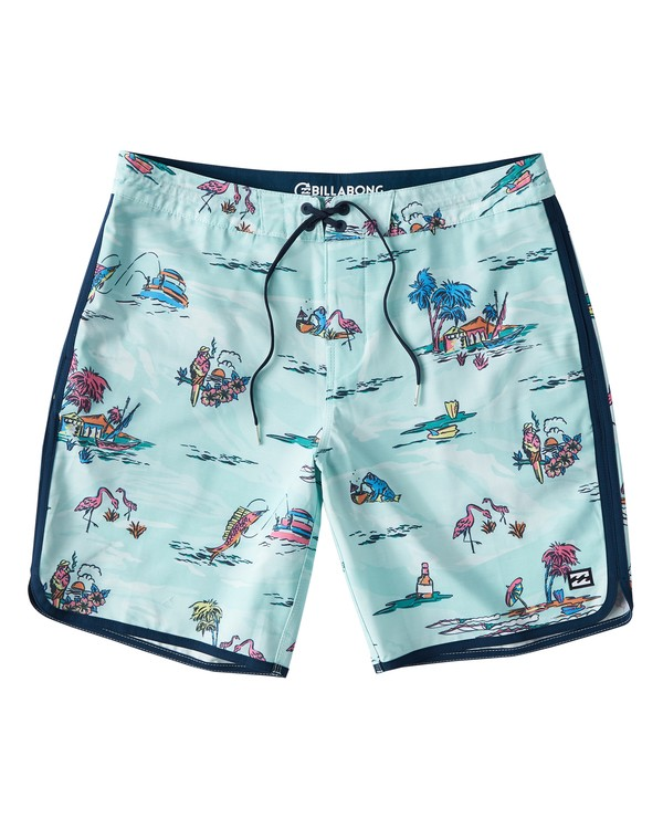 0 73 Lineup LT Boardshorts Green M143TBSL Billabong