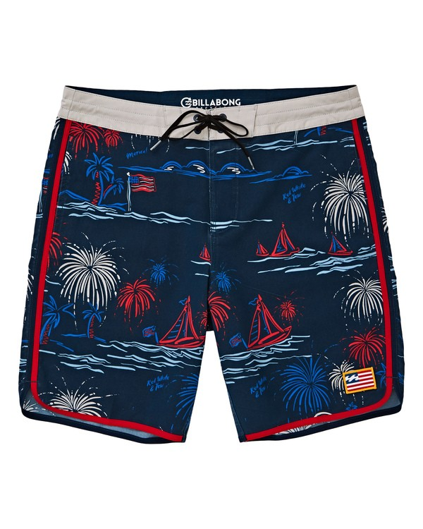 0 73 Lineup LT Boardshorts Red M143TBSL Billabong