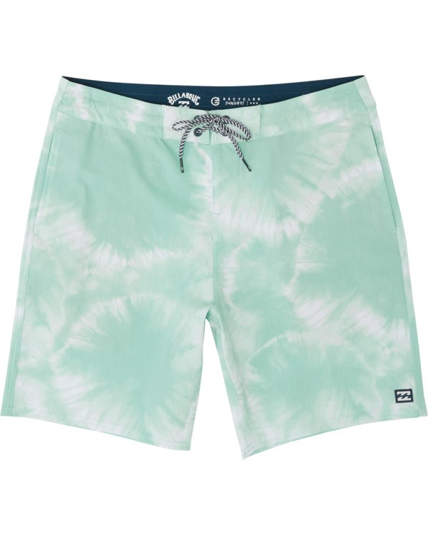 0 All Day Riot Lo Tides Boardshorts Green M1451BRL Billabong