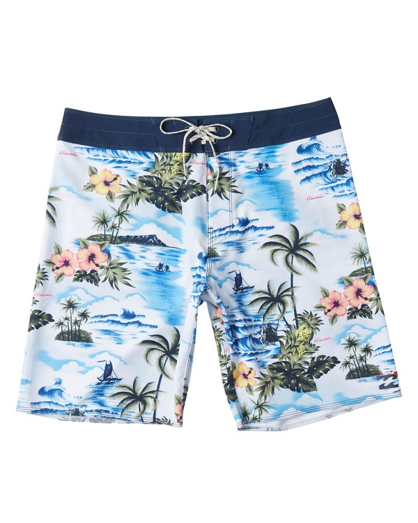 0 Sundays Airlite Hawaii Boardshorts Blue M1511BSA Billabong