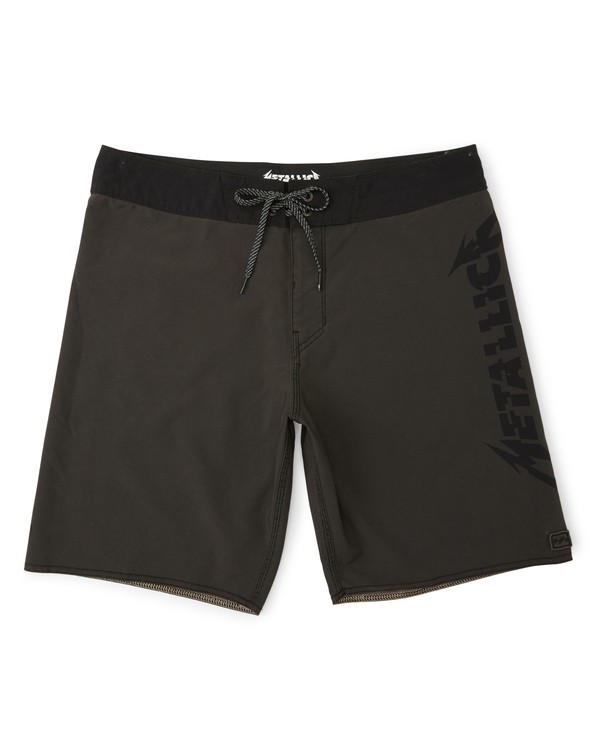 0 Black Album Boardshorts Black M152WBBA Billabong